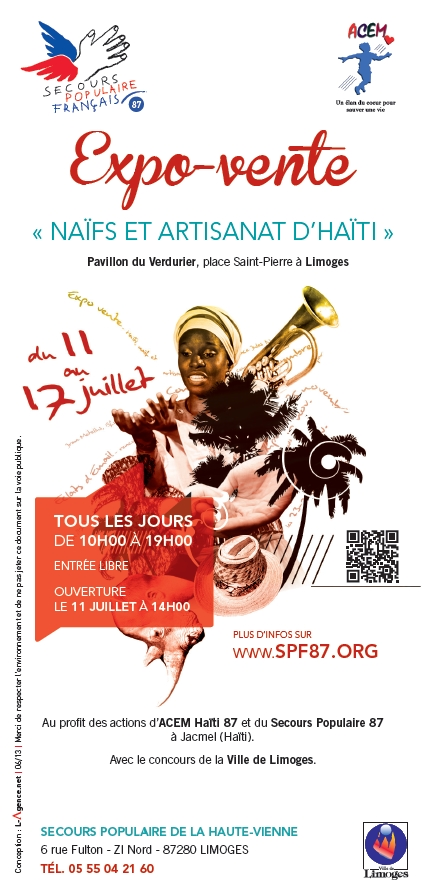 flyer expo vente haïti