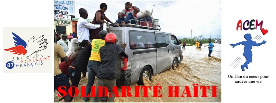 Appel à la solidarité pour Haïti
